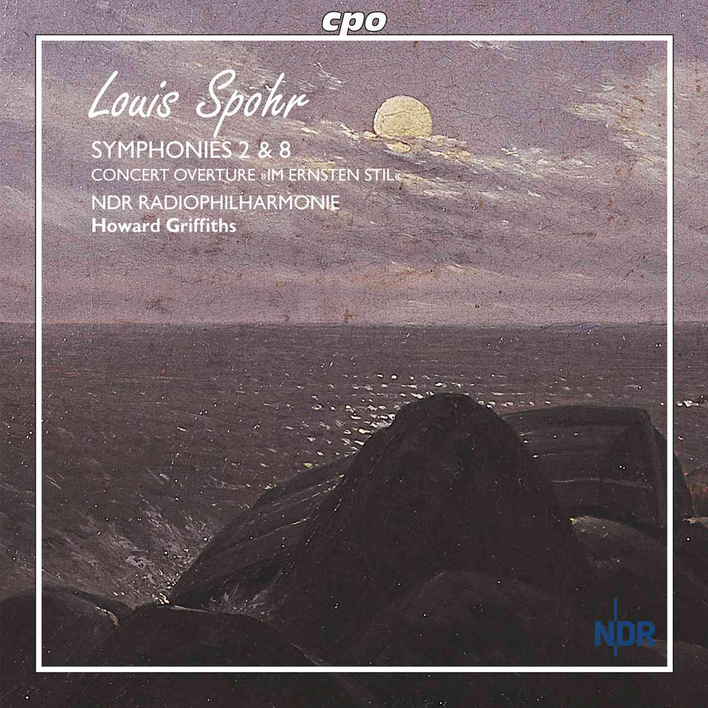 SPOHR:SYMPHONIES 2 AND 8 BY GRIFFITHS,HOWARD (CD)